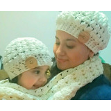 Zapatitos Y Gorras Botitas Para Bebés Tejidos