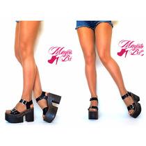 Zapatos Zuecos Sandalias Mujer Cuero Del 34 Al 40 Verano 17