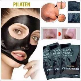 Mascara Adesivo Preta Black Head Pilaten Tira Remove Cravos
