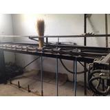 Fabrica De Vassoura De Palha, Com Máquina Costura E Prensa