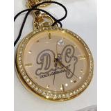 Relógio Feminino Dolce & Gabbana D & G Serviço Secreto Ouro