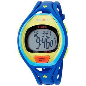 Timex #tw5m Ironman Full Size Sleek 50 Lap Alarm Chronograp