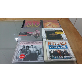 06 Cds Jefferson Airplane Starship Originais