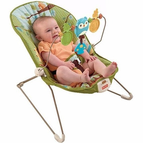 Cadeira Cadeirinha Bebê Descanso Vibratória Fisher Price