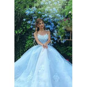 Vestido De Debutante Quinze Anos Luxo