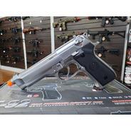 Airsoft Pistola Gbb We Beretta M92 Cromada Fullmetal Nova!!