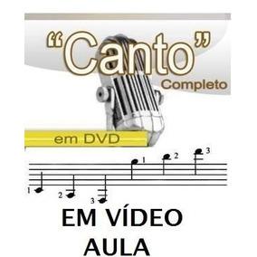 Aulas De Canto Curso Em 2 Dvds A4z