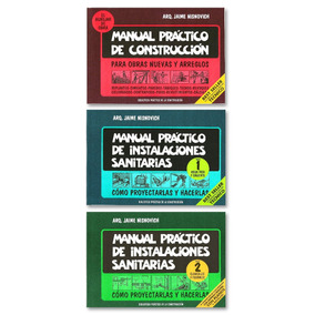 Manual Practico De Construccion Y Los 2 Tomos De Instalacion