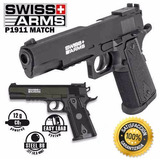 Pistola Gas Co2 Colt 1911 4.5mm + 4 Pipetas + 300 Balines