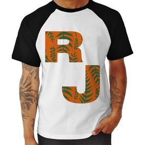 Camisa Camiseta Raglan Masculina Rio De Janeiro