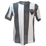 Camisa Vintage Retrô Atlético Mineiro Galo 1971 Blusa Cinza