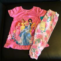Disney Store - Pijama De Las Princesas 2 Años