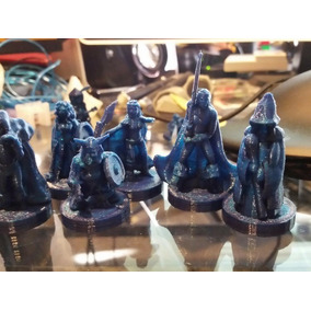 Lote Kit De 6 Miniaturas Rpg (personagens Variados)