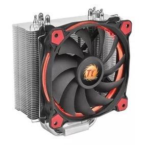 Cooler Disipador Cpu Thermaltake Riing Silent 120 Red