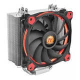 Cooler Disipador Cpu Thermaltake Riing Silent 120 Red