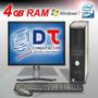 Cpu 4 Gb Dell/hp Alto Rendimiento En Internet ! 12 Cuotas