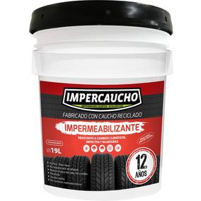 Impermeabilizante Impercaucho 12 Años Blanco Y Terracota