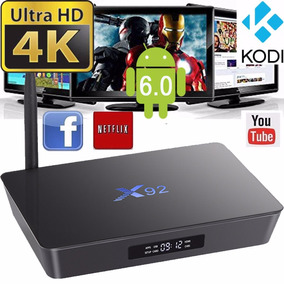 Android Tv Box Convertidor Smart Netflix Youtube Kodi X92 Hd