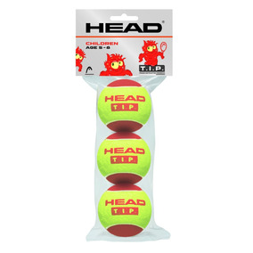 Pelotas De Baja Presion Head Tip Red Ball