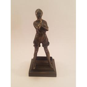 Figura De Mujer Escultura De Bronce Con Torso Desnudo