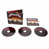 Metallica Master Of Puppets Deluxe 3 Cd Nuevo Import 10/11