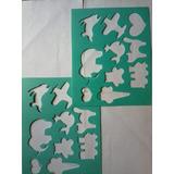 Plantillas De Foami Para Figuras Decorativas