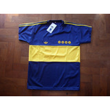 Camiseta Retro Boca Juniors 1981 Campeon Maradona