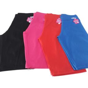 Kit Com 4 Bermuda Short Feminino Elástico Tamanho 46 Ao 54