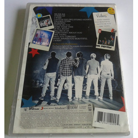One Direction Up All Night The Live Tour Dvd Made In Mexico
