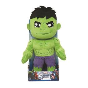 Boneco Pelucia Hulk Os Vingadores Marvel 30 Cm