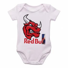 Bodie Body Infantil Roupa Bebê Nene Criança Red Bull Touro 40265013abe