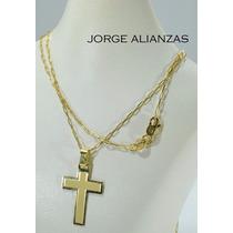 Cadena Y Cruz Oro Hombre 1