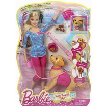 Barbie Com Cachorrinho Que Faz Coco De Verdade.