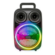 Parlante Portatil Inalambrico Bluetooth Karaoke Fm Noga Cba
