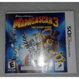 Madagascar 3 - Nintendo 3ds.