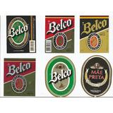 1 Rotulo Antigo Cerveja Da Cerveja Belco-talber A Escolher