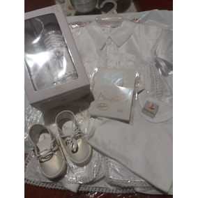 Kit Bsutizo Niño Color Blanco Talla 1 Año