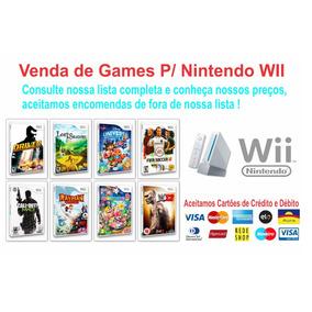 1 Patch De Jogos Wii A Sua Escolha Nintendo Wii