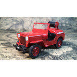 Jeep Willys Bomberos, Ixo, 1:43