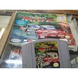 Cassete Nintendo 64 Juego Y Caja ( Top Gear Rally 2 )