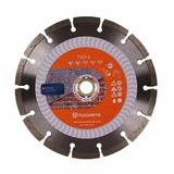Disco Corte Diamantado Segmentado 4 1/2 Husqvarna Concreto