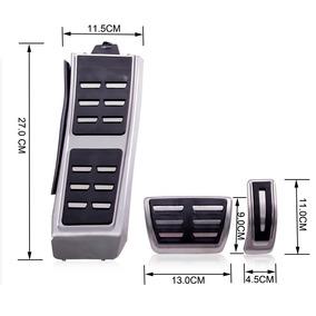 Pedaleira Esp. Audi A4 A5 Q3 Q5 A6 A7 A8 At Acessorios Jp