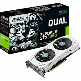 Placa De Video Asus Geforce Gtx 1060 6gb Gddr5 Oc Dual Fan
