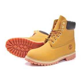 Bota Timberland Yellow Boot 6 Pol. Premium Wtpf Masculino Botas ... 710a86a782ce5