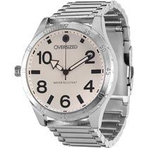 Relógio Esportivo Masculino Oversized Trust 51mm (white)