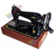 Máquina De Costura Pretinha Elétrica Reta Doméstica C/ Motor