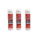 03 Spray Higienizador Limpeza Ar Condicionado Radnaq 6050 Lv
