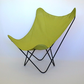 Silla Bkf, Silla Mariposa Diseño Moderno Con Funda De Tela