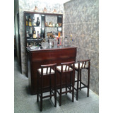 Juego De Bar, Barra Y Sillas Oferta Sala Comedor 350usd