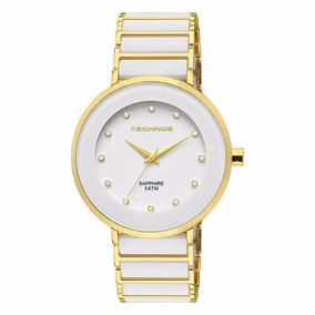 Relógio Feminino Technos Ceramic Sapphire 2035lmm/4b